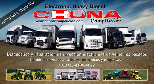 escaneo camiones colectivos maquinaria agrícola vial