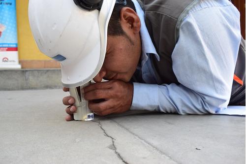 escaneo de estructuras de concreto