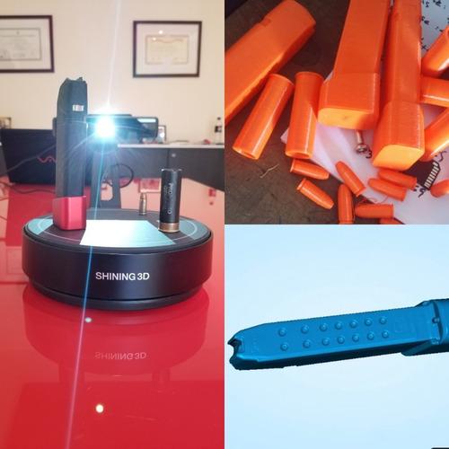 escaneo ingeniería inversa matriceria scanner 3d einscan