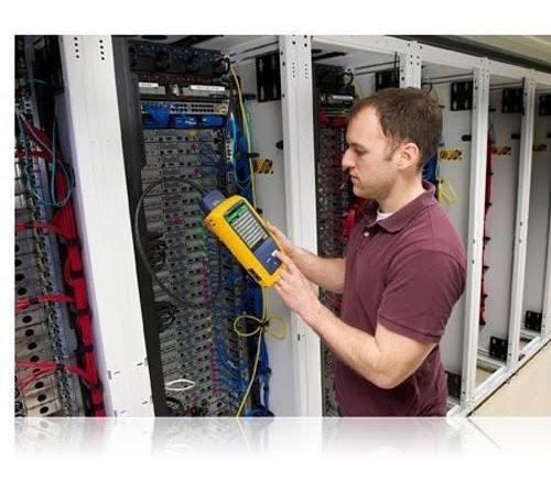 escaneo/certificación de cabledo utp fluke dsx5000 nodos