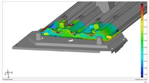 escaneos 3d, digitalizaciones 3d, control e inspección 3d
