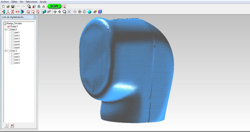 escaner 3d - digitalizaciones de productos - cad - cam