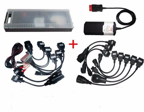 escaner auto y camiones delphi ds150 16 cables  envio gratis