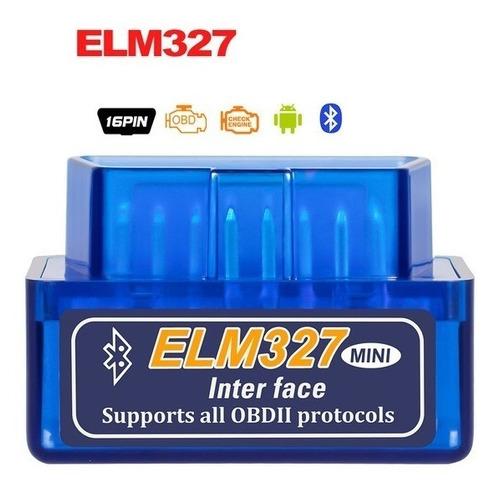 escaner automotor bluetooth scanner elm327 obd2 local 1junta