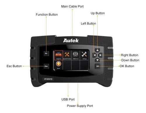 escaner automotriz  autek ifix919