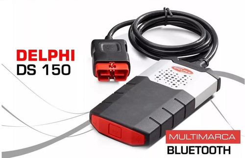 escaner automotriz delphi  multimarca  bluetooth + 8 cables