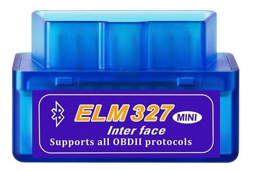escaner automotriz elm327 bluetooth v2.1 obdii diagnostico