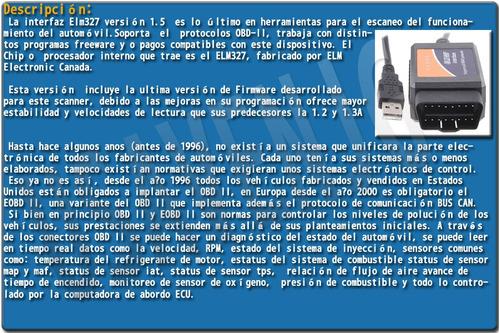 escaner automotriz elm327 usb chip ftdi full programas  g1