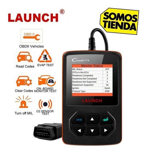 escaner automotriz launch creader v + multimarcas obd2