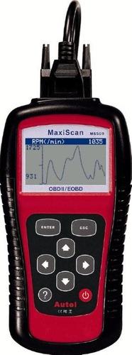 escaner automotriz maxiscan ms509 obd2 eobd en español