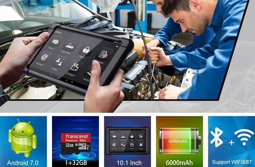 escaner automotriz obd2 multimarca caja cuerpo aceleracion