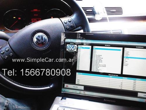 escaner autos reset intervalo de servicio+escaneo+domicilio