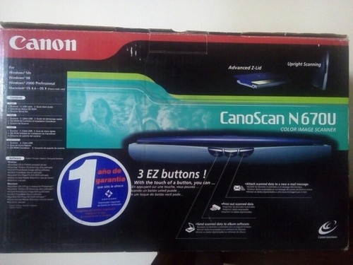 escaner canon n67ou