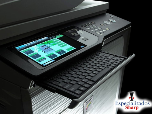 escaner copiadora sharp mx-4100 impresora toner usb