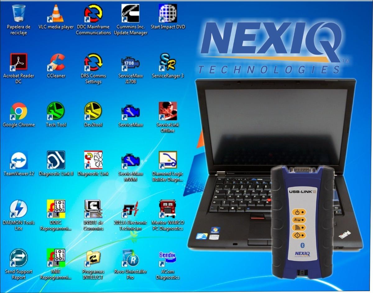 Escaner Diesel Nexiq Bt 2 Full + Laptop Lista Para Usar