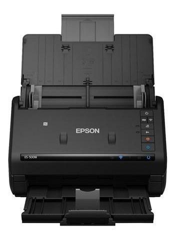 escaner epson workforce es-500w doble cara