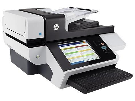 escáner hp digital sender flow 8500 fn1 600x600dpi usb 2.0