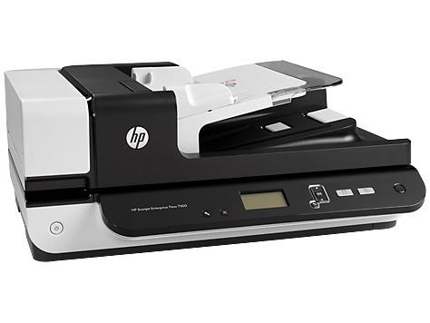 escaner hp flow 7500