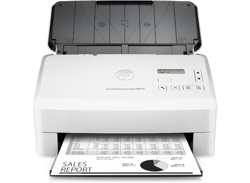 escáner hp scanjet enterprise flow 5000 s4 con alim. l2755a