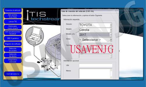 escaner mongoose toyota techstream ultm ver calibraciones g1