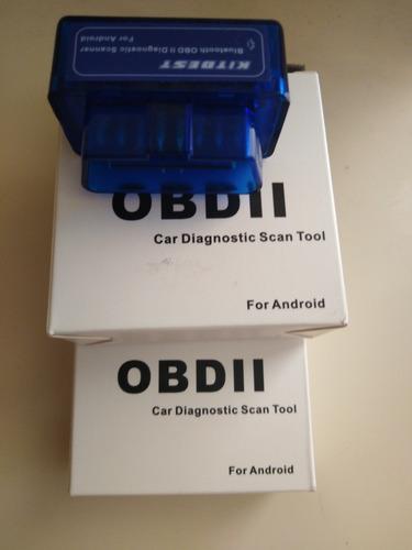 escáner obd2 bluetooth para smartphone