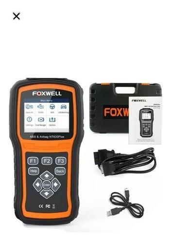 escaner para vehiculo marca foxwell nt630