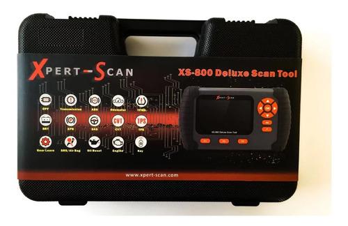 escaner profesional automotriz xpert-scan xs-800