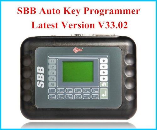 escaner programador de llaves sbb silca v33.02     2017