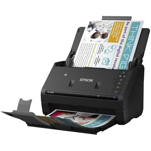 escaner scanner duplex wifi epson es-500w wireless adf =hp