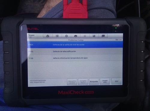 escaner y limpieza de inyectores y mariposa con ultrasonido