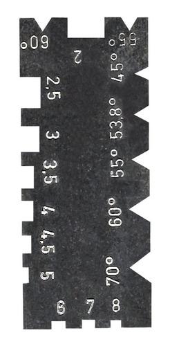 escantilhão universal + calibre de rosca 52 lâminas eda
