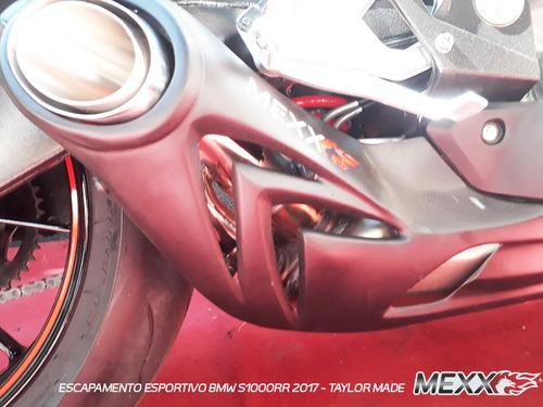 escapamento bico bmw s1000 rr taylor made mexx cod.137