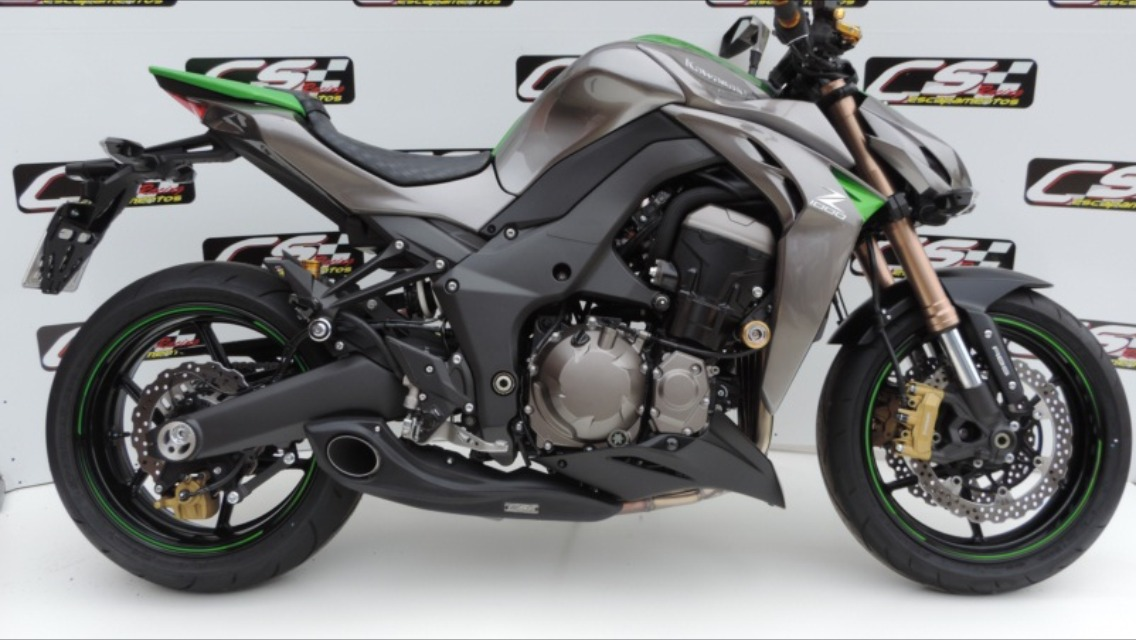 Escapamento Cs Racing Full Kawasaki Z1000 2014 2017 - R$ 2 ...