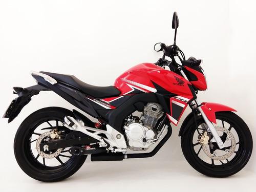 escapamento disarsz honda cb twister 250cc 2016-2018