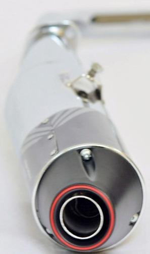 escapamento escape turbo pro tork fan 150 esi 2010/2013
