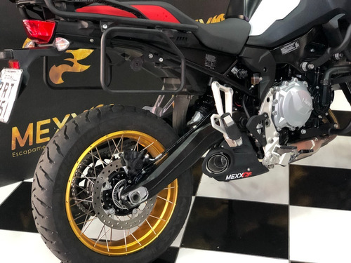 escapamento esportivo mexx bmw f850 gs taylor made hurricane