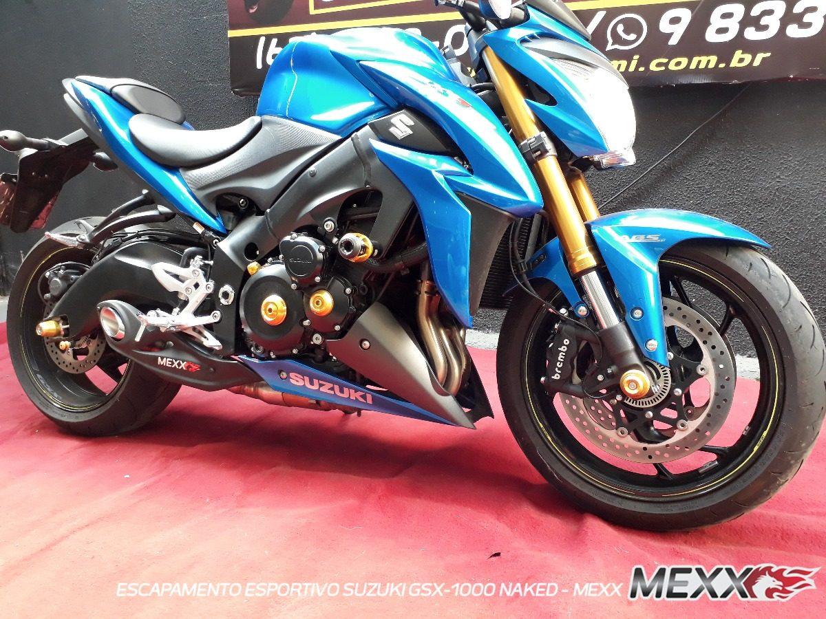 Escapamento Esportivo Ponteira Suzuki Gsx 1000 Mexx Cod