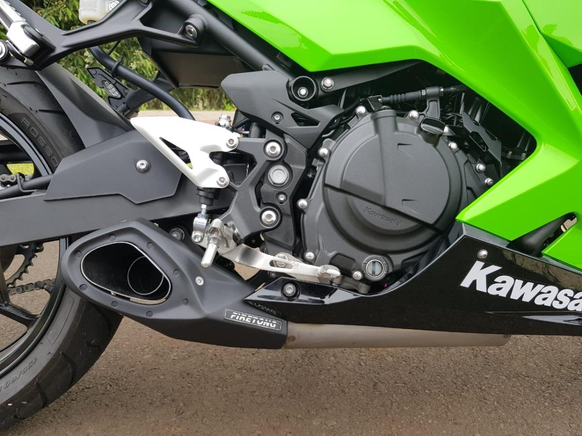 Escapamento Firetong Kawasaki Ninja 400 Full Esportivo Willy