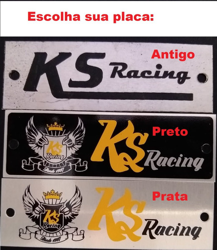 escapamento ks racing + curva bros 150 160 klebão dor