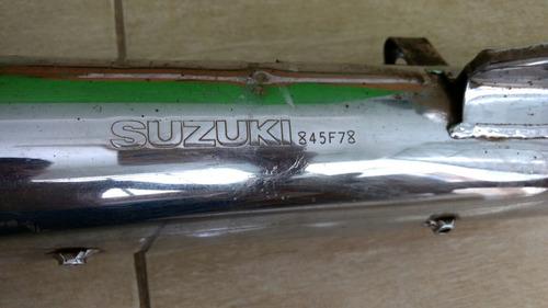 escapamento original suzuki yes 125