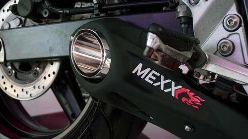 escapamento ponteira taylor made mexx bandit 650n cód.604