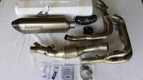 escape akrapovic bmw s1000rr hp full titanium 2015 2016 orig