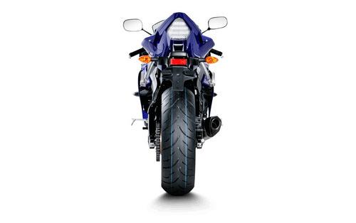 escape akrapovic slip on yamaha yzf r6 2013-2016 moto delta