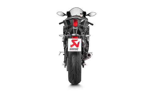 escape akrapovic slip on yamaha yzf r6 2015-2018 moto delta
