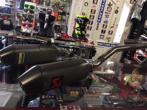 escape akrapovic titanium honda crf 450 2015 2016 qpg team