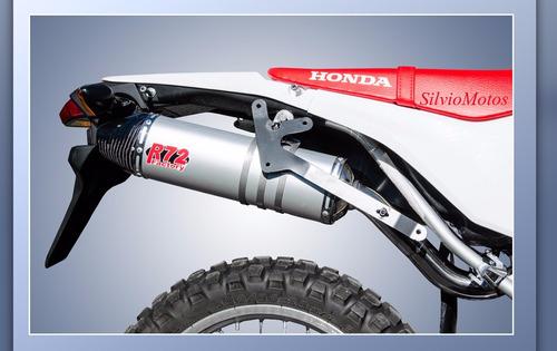 escape competicion r72 aluminio con power honda crf250 l