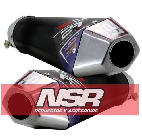 escape competicion t/spr evo5 cara tacho colin atv nsr motos