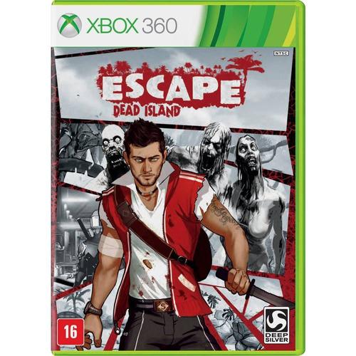 escape dead island xbox 360 one dvd lacrado mídia física