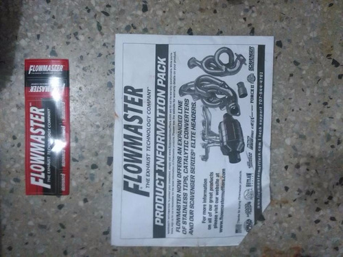 escape flowmaster american thunder cat back super 44 mustang