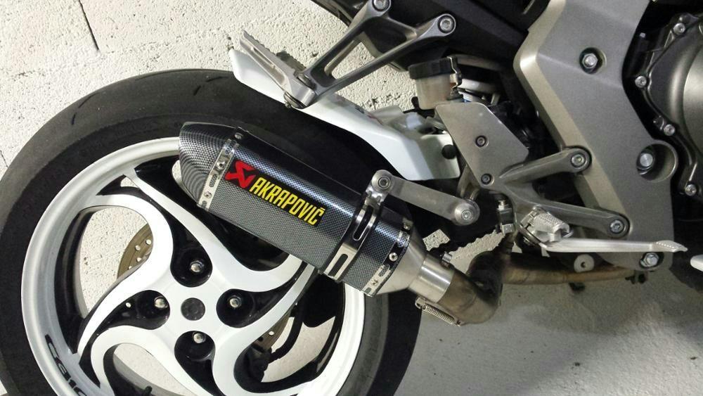 Escape Moto Deportivo Tipo Akrapovic Yamaha Honda Pulsar ...